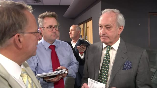 diane james elected new leader of ukip neil hamilton am interview sot [on being removed from the conference schedule] i didn't i was just handed a... - diane james politik stock-videos und b-roll-filmmaterial