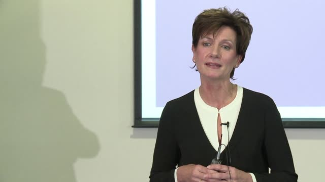 diane james is elected new leader of the uk independence party replacing nigel farage who stepped down following britain's vote to leave the european... - diane james politik stock-videos und b-roll-filmmaterial