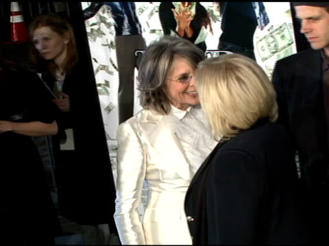 Diane Keaton and Callie Khouri at the 'Mad Money' Premiere at the Mann Village Theatre in Westwood California on January 9 2008