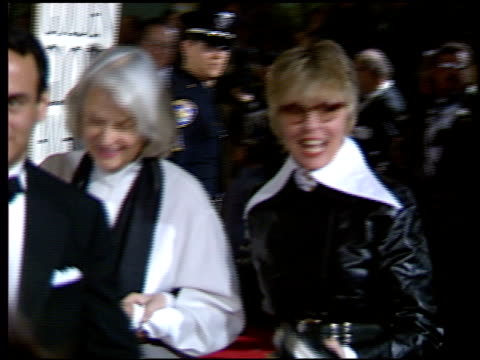 diane keaton at the 1994 golden globe awards at the beverly hilton in beverly hills california on january 22 1994 - diane keaton stock videos & royalty-free footage