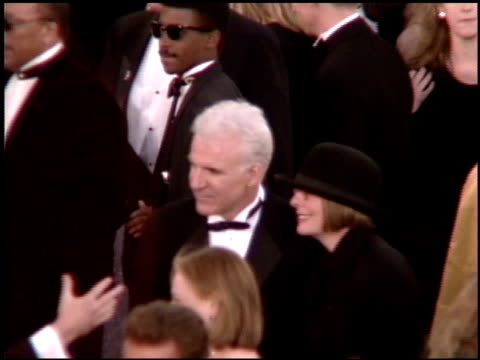diane keaton at the 1995 academy awards arrivals at the shrine auditorium in los angeles california on march 27 1995 - diane keaton stock videos & royalty-free footage