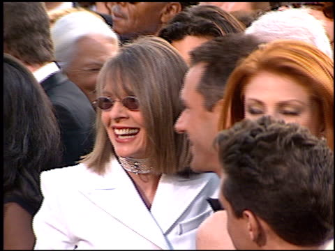 Diane Keaton at the 1997 Academy Awards Arrivals at the Shrine Auditorium in Los Angeles California on March 24 1997