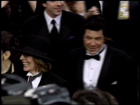 diane keaton at the 2004 academy awards arrivals at the kodak theatre in hollywood california on february 29 2004 - 2004 stock-videos und b-roll-filmmaterial