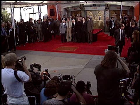 diane keaton at the dedication of sherry lansing's footprints at grauman's chinese theatre in hollywood california on february 16 2005 - diane keaton stock videos & royalty-free footage