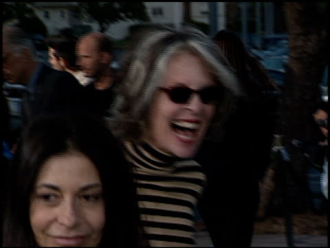 diane keaton at the 'earth to la' premiere at wadsworth theatre in los angeles california on may 10 2002 - diane keaton stock videos & royalty-free footage