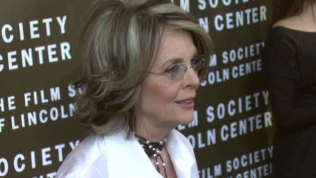 diane keaton at the film society of lincoln center tribute to diane keaton at avery fisher hall in new york new york on april 9 2007 - diane keaton stock videos & royalty-free footage