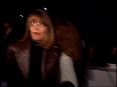 diane keaton at the 'first wives club' premiere at paramount studios in hollywood california on september 16 1996 - diane keaton stock videos & royalty-free footage