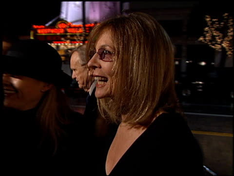 diane keaton at the 'hanging up' premiere on february 16, 2000. - hanging up stock videos & royalty-free footage