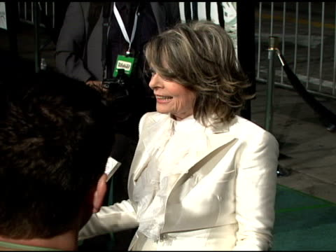 Diane Keaton at the 'Mad Money' Premiere at the Mann Village Theatre in Westwood California on January 9 2008