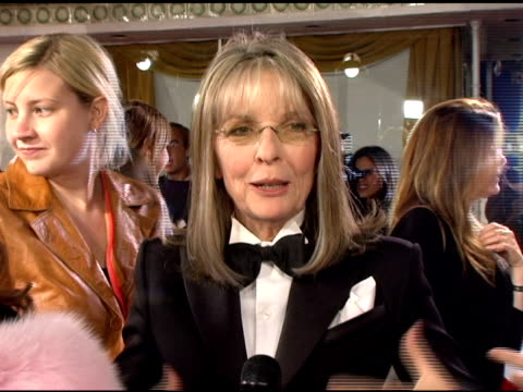 Diane Keaton on the film at the 'The Family Stone' Premiere at the Mann Village Theatre in Westwood California on December 6 2005