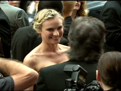 diane kruger and roberto cavalli at the cavalli ny flagship store launch at cavalli flagship store in new york, new york on september 7, 2007. - ブランド ロベルト・カヴァリ点の映像素材/bロール