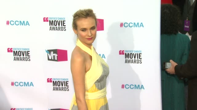 Diane Kruger at 17th Annual Critics' Choice Movie Awards on 1/12/12 in Hollywood CA