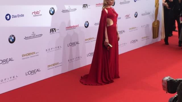 Diane Kruger at German Film Award at Messe Berlin on May 27 2016 in Berlin Germany