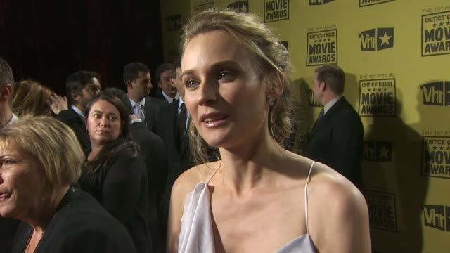 Diane Kruger at the 15th Annual Critics' Choice Movie Awards at Hollywood CA