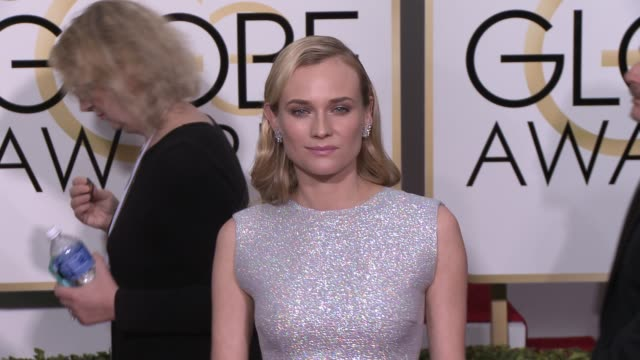 Diane Kruger at the 72nd Annual Golden Globe Awards Arrivals at The Beverly Hilton Hotel on January 11 2015 in Beverly Hills California