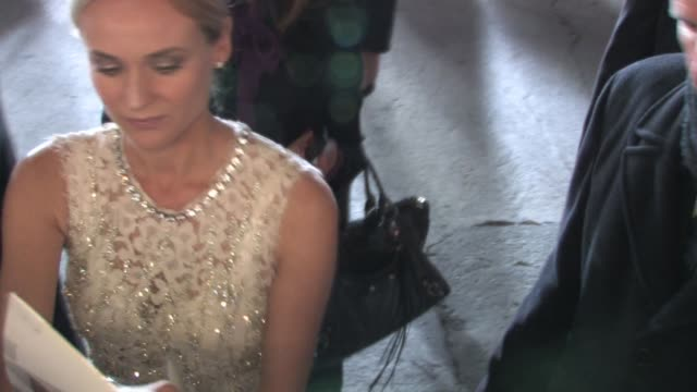 diane kruger at the premiere of 'unknown' in westwood at the celebrity sightings in los angeles at los angeles ca - westwood stock videos & royalty-free footage
