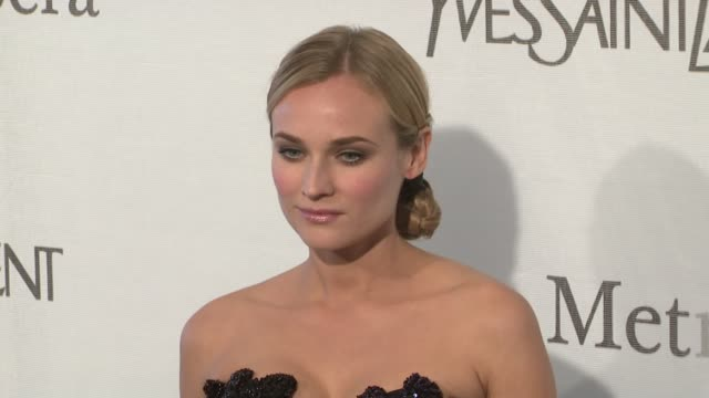 Diane Kruger at the The Metropolitan Opera's 125th Anniversary Gala at New York NY
