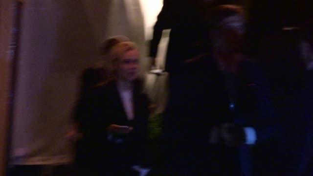 diane kruger departing private 2014 caa pre oscar party in bel air celebrity sightings in los angeles on february 28 2014 in los angeles california - oscarsfesten bildbanksvideor och videomaterial från bakom kulisserna