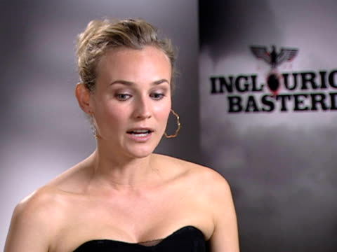 diane kruger on the tough audiences and critics. - 評論家点の映像素材/bロール