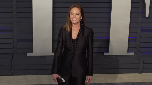 vidéos et rushes de diane lane at 2019 vanity fair oscar party hosted by radhika jones at wallis annenberg center for the performing arts on february 24, 2019 in beverly... - oscar party