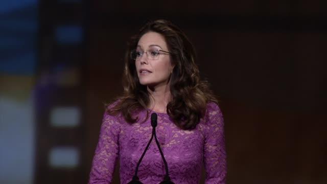 SPEECH Diane Lane at 24th Annual Palm Springs International Film Festival Awards Gala on 1/5/13 in Los Angeles CA