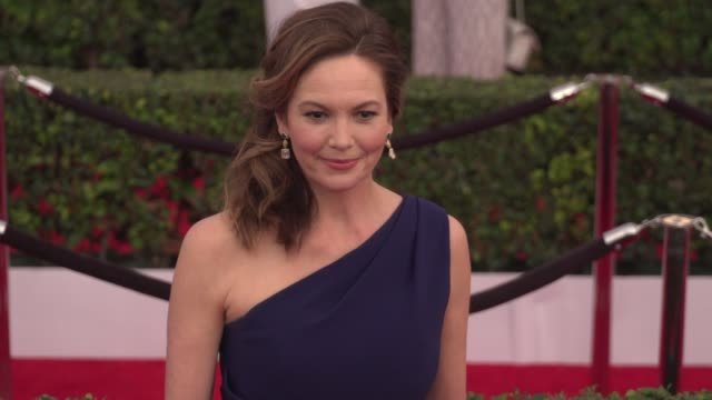 diane lane at the 22nd annual screen actors guild awards - arrivals at the shrine auditorium on january 30, 2016 in los angeles, california. 4k... - shrine auditorium stock videos & royalty-free footage