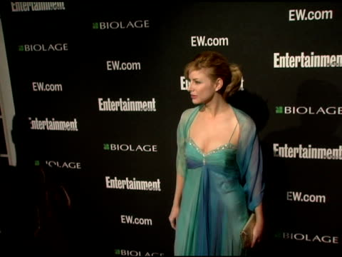 diane neal at the entertainment weekly's viewing party for 2006 academy awards at elaine's in new york, new york on march 5, 2006. - エンターテインメント・ウィークリー点の映像素材/bロール