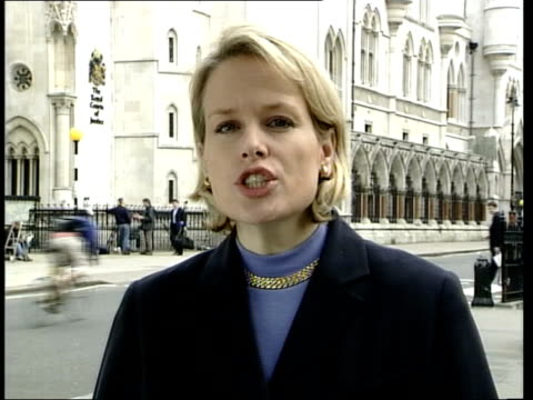 diane pretty legal battle itn london ext i/c - legal system stock videos and b-roll footage