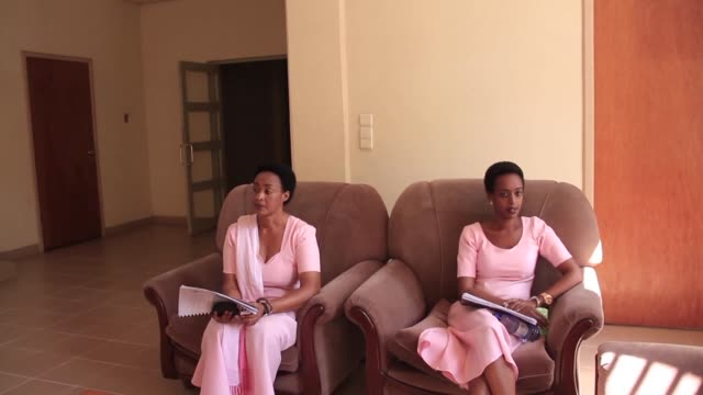 diane rwigara prominent critic of president paul kagame goes on trial more than a year after being blocked from running in a presidential election... - diane rwigara stock videos and b-roll footage