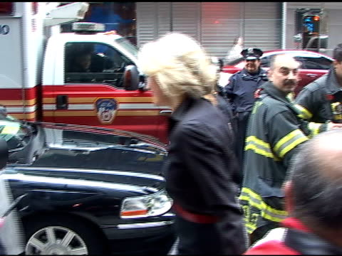 diane sawyer at good morning america in new york at the celebrity sightings in new york at new york ny - good morning america stock videos and b-roll footage