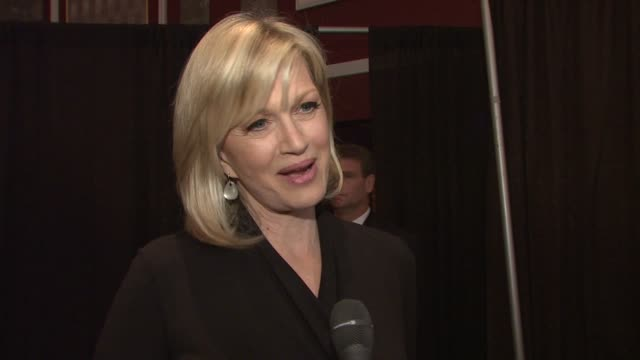 diane sawyer talking about how she's looking forward to enjoying the event, the connection she shares with matt lauer and how matt is so deserving of... - matt lauer stock videos & royalty-free footage