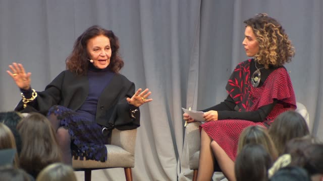 SPEECH Diane von Furstenberg on her mother being a tiger mom why she does not have plastic surgery advice for women at Glamour's Women Of The Year...