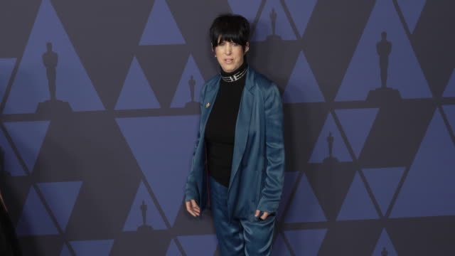 diane warren at the 2019 governors awards on october 26 2019 in hollywood california - diane warren stock videos & royalty-free footage