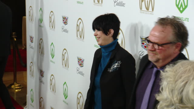 diane warren at the 2019 producers guild awards presented by cadillac at the beverly hilton hotel on january 19 2019 in beverly hills california - diane warren stock videos & royalty-free footage