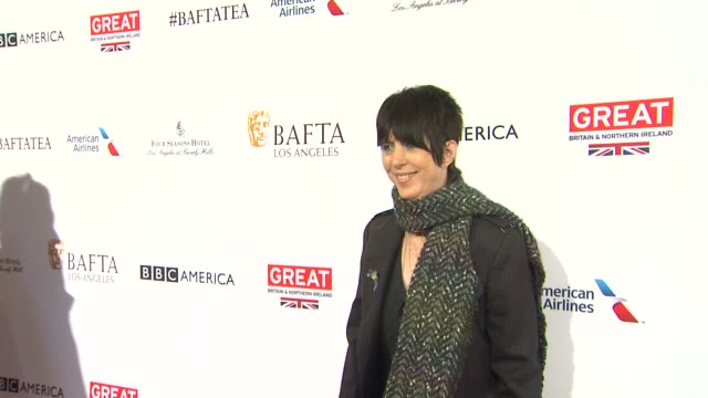 diane warren at the bafta los angeles awards season tea party at four seasons hotel los angeles at beverly hills on january 09 2016 in los angeles... - tea party stock videos and b-roll footage
