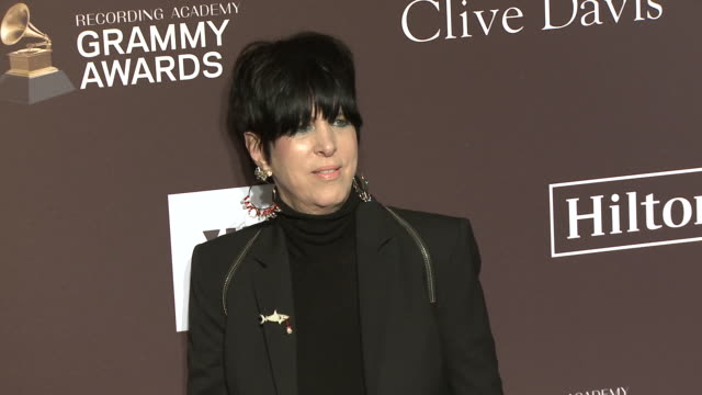 diane warren at the clive davis' and the recording academy's pregrammy gala at the beverly hilton hotel on february 09 2019 in beverly hills... - diane warren stock videos & royalty-free footage