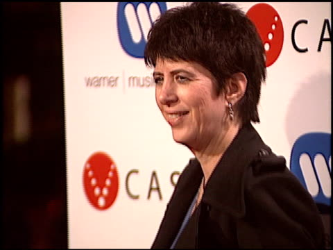 vídeos y material grabado en eventos de stock de diane warren at the warner brothers grammy awards party at pacific design center in west hollywood california on february 13 2005 - diane warren