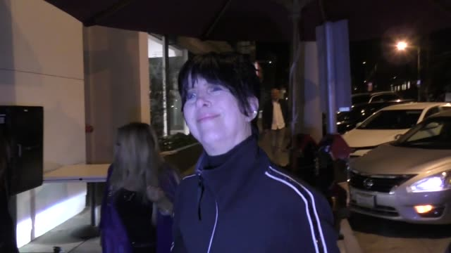 interview diane warren explains her redcarpet shove by mariah carey outside craig's restaurant in west hollywood in celebrity sightings in los angeles - diane warren stock videos & royalty-free footage