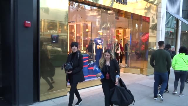 diane warren goes shopping in beverly hills at celebrity sightings in los angeles on february 22 2019 in los angeles california - diane warren stock videos & royalty-free footage