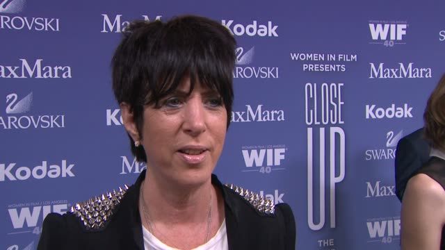 vídeos y material grabado en eventos de stock de interview diane warren on being a past honoree the importance of an organization like wif her advice to those trying to break into the business and... - diane warren
