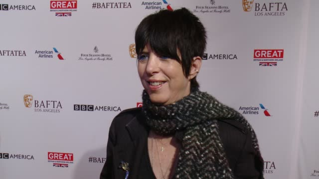 vídeos y material grabado en eventos de stock de interview diane warren on being at the event and on her love for the brits at the bafta los angeles awards season tea party at four seasons hotel los... - diane warren