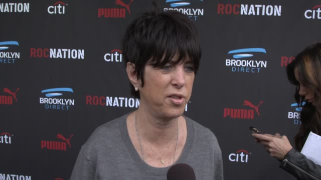 vídeos y material grabado en eventos de stock de interview diane warren on performances at the grammys nominations a lady gaga and tony bennett at roc nation and three six zero pregrammy brunch 2015... - diane warren
