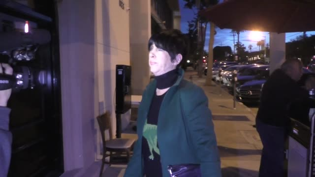interview diane warren on the mueller report release outside craig's in west hollywood at celebrity sightings in los angeles on march 22 2019 in los... - diane warren stock videos & royalty-free footage
