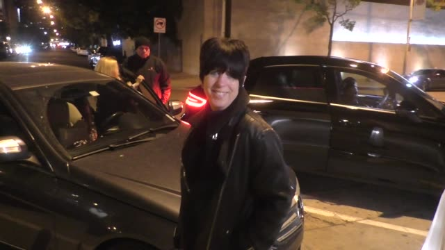 interview diane warren shares her thoughts on kanye west the coachella stage dispute outside craig's restaurant in los angeles in celebrity sightings... - diane warren stock videos & royalty-free footage