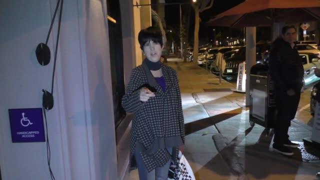 interview diane warren talks about her 11th oscar nomination bernie sanders outside craig's restaurant in west hollywood in celebrity sightings in... - diane warren stock videos & royalty-free footage