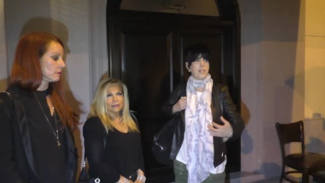 interview diane warren talks about joe biden outside craig's restaurant in west hollywood in celebrity sightings in los angeles - diane warren stock videos & royalty-free footage