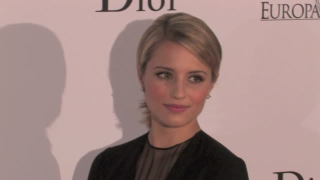 dianna agron at luc besson cité du cinema gala opening in paris dianna agron cité du cinema opening paris on september 21 2012 in paris france - dianna agron stock videos and b-roll footage