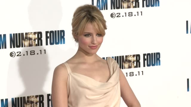 Dianna Agron at the 'I Am Number Four' Premiere at Westwood CA