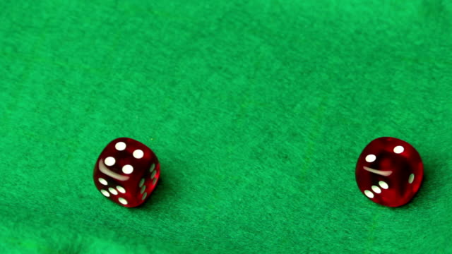 dice, game of chance - game of chance stock videos & royalty-free footage