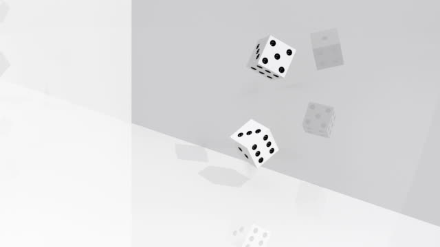 dices rolling double six - double chance stock videos & royalty-free footage